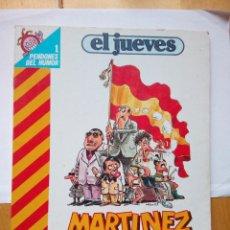 Coleccionismo de Revista El Jueves: MARTÍNEZ EL FACHA COLECCIÓN PENDONES DEL HUMOR 1 KIM AÑO 1983. Lote 147845862