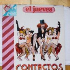 Coleccionismo de Revista El Jueves: CONTACTOS COLECCIÓN PENDONES DEL HUMOR 4 MARIEL& ANDRÉS MARTÍN AÑO 1983 MAMEN. Lote 147847646