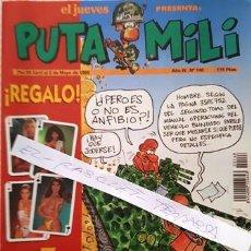 Coleccionismo de Revista El Jueves: REVISTA EL JUEVES - PUTA MILI - 26 DE ABRIL AL 2 MAYO DE 1995 - AÑO IV - Nº 148 -. Lote 148249698