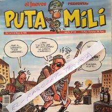 Coleccionismo de Revista El Jueves: REVISTA EL JUEVES - PUTA MILI - DEL 3 AL 9 DE MAYO DE 1995 - AÑO IV - Nº 149 -. Lote 148249734