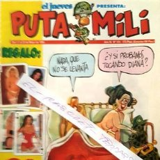 Coleccionismo de Revista El Jueves: REVISTA EL JUEVES - PUTA MILI - DEL 17 AL 23 DE MAYO DE 1995 - AÑO IV - Nº 151 -. Lote 148249750