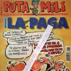 Coleccionismo de Revista El Jueves: REVISTA EL JUEVES - PUTA MILI - DEL 4 AL 10 FEBRERO DE 1997 - AÑO VI - Nº 241 -. Lote 148249798