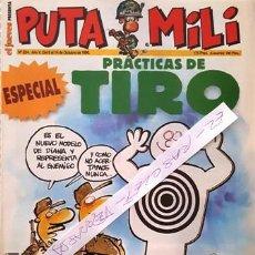Coleccionismo de Revista El Jueves: REVISTA EL JUEVES - PUTA MILI - DEL 8 AL 14 DE OCTUBRE DE 1996 - AÑO V - Nº 224 -. Lote 148249854