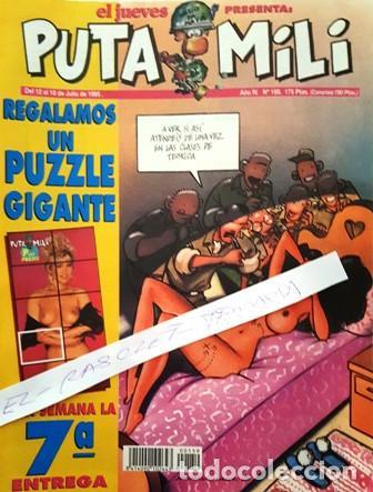 REVISTA EL JUEVES - PUTA MILI - 12 AL 18 JULIO 1995 - AÑO IV - Nº 159 - (Coleccionismo - Revistas y Periódicos Modernos (a partir de 1.940) - Revista El Jueves)