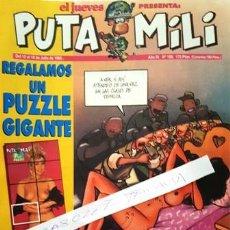 Coleccionismo de Revista El Jueves: REVISTA EL JUEVES - PUTA MILI - 12 AL 18 JULIO 1995 - AÑO IV - Nº 159 -. Lote 148384454