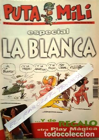 REVISTA EL JUEVES - PUTA MILI - 18 MARZO 1997 - AÑO VI- Nº 246 - (Coleccionismo - Revistas y Periódicos Modernos (a partir de 1.940) - Revista El Jueves)