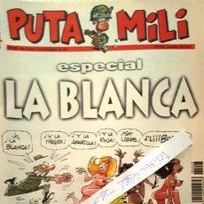 Coleccionismo de Revista El Jueves: REVISTA EL JUEVES - PUTA MILI - 18 MARZO 1997 - AÑO VI- Nº 246 -. Lote 148384498