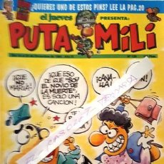 Coleccionismo de Revista El Jueves: REVISTA EL JUEVES - PUTA MILI - 14 AL 20 DICIEMBRE 1994 - AÑO III - Nº 129 -. Lote 148384646