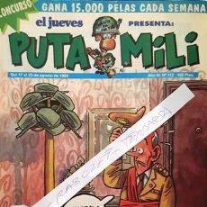 Coleccionismo de Revista El Jueves: REVISTA EL JUEVES - PUTA MILI - 17 AL 23 AGOSTO 1994 - AÑO III - Nº 112 -. Lote 148384846