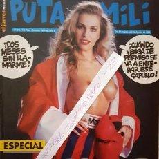 Coleccionismo de Revista El Jueves: REVISTA EL JUEVES - PUTA MILI - 30 JULIO AL 5 AGOSTO 1996 - AÑO V - Nº 214 -. Lote 148385178