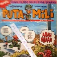 Coleccionismo de Revista El Jueves: REVISTA EL JUEVES - PUTA MILI - 28 SEPTIEMBRE AL 4 OCTUBRE 1994 - AÑO III - Nº 118 -. Lote 148385262