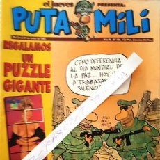 Coleccionismo de Revista El Jueves: REVISTA EL JUEVES - PUTA MILI - 21 AL 27 JUNIO 1995 - AÑO IV - Nº 156 -. Lote 148385310