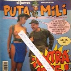 Coleccionismo de Revista El Jueves: REVISTA EL JUEVES - PUTA MILI - 30 NOVIEMBRE 1994 - AÑO III - Nº 127 -. Lote 148385430