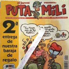 Coleccionismo de Revista El Jueves: REVISTA EL JUEVES - PUTA MILI - 30 ABRIL AL 6 MAYO 1996 - AÑO V - Nº 201 -. Lote 148386530