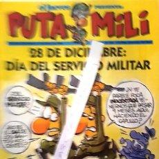Coleccionismo de Revista El Jueves: REVISTA EL JUEVES - PUTA MILI - 26 DICIEMBRE AL 1 ENERO 1996 - AÑO V - Nº 183 -. Lote 148387190