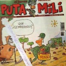 Coleccionismo de Revista El Jueves: REVISTA EL JUEVES - PUTA MILI - 8 AL 14 NOVIEMBRE 1995 - AÑO IV - Nº 176 -. Lote 148387342
