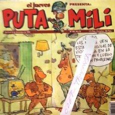 Coleccionismo de Revista El Jueves: REVISTA EL JUEVES - PUTA MILI - 6 AL 12 DICIEMBRE 1995 - AÑO IV - Nº 180 -. Lote 148387482