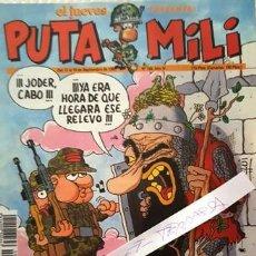 Coleccionismo de Revista El Jueves: REVISTA EL JUEVES - PUTA MILI - 13 AL 19 SEPTIEMBRE 1995 - AÑO IV - Nº 1868-. Lote 148387606