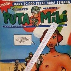 Coleccionismo de Revista El Jueves: REVISTA EL JUEVES - PUTA MILI - 14 AL 20 SEPTIEMBRE 1994 - AÑO III - Nº 116 -. Lote 149266362