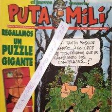 Coleccionismo de Revista El Jueves: REVISTA EL JUEVES - PUTA MILI - 2 AL 8 AGOSTO 1995 - AÑO IV - Nº 162 -. Lote 149266530