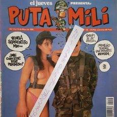 Coleccionismo de Revista El Jueves: REVISTA EL JUEVES - PUTA MILI - 10 AL 16 MAYO 1995 - AÑO IV - Nº 150 -. Lote 149266566