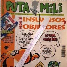 Coleccionismo de Revista El Jueves: REVISTA EL JUEVES - PUTA MILI - 8 AL 14 ABRIL 1997 - AÑO VI - Nº 250 -. Lote 149266606