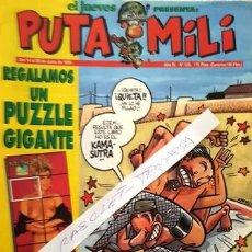 Coleccionismo de Revista El Jueves: REVISTA EL JUEVES - PUTA MILI - 14 AL 20 JUNIO 1995 - AÑO IV - Nº 155 -. Lote 149266714