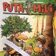 Coleccionismo de Revista El Jueves: REVISTA EL JUEVES - PUTA MILI - 30 ENERO AL 5 FEBRERO 1996 - AÑO V - Nº 188 -. Lote 149266810