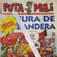 Coleccionismo de Revista El Jueves: REVISTA EL JUEVES - PUTA MILI - 6 AL 12 AGOSTO 1996 - AÑO V - Nº 215 -. Lote 149267158
