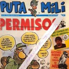 Coleccionismo de Revista El Jueves: REVISTA EL JUEVES - PUTA MILI - 13 AL 19 AGOSTO 1996 - AÑO V - Nº 216 -. Lote 149267186