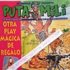 Coleccionismo de Revista El Jueves: REVISTA EL JUEVES - PUTA MILI - 20 AL 26 SEPTIEMBRE 1995 - AÑO IV - Nº 169 -. Lote 149412446