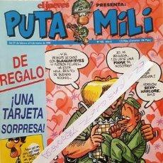 Coleccionismo de Revista El Jueves: REVISTA EL JUEVES - PUTA MILI - 27 FEBRERO AL 4 MARZO 1996 - AÑO V - Nº 192 -. Lote 149412538