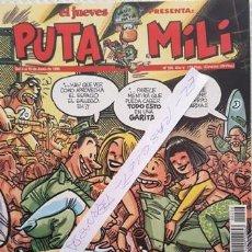 Coleccionismo de Revista El Jueves: REVISTA EL JUEVES - PUTA MILI - 4 AL 10 JUNIO 1996 - AÑO V - Nº 206 -. Lote 149412558
