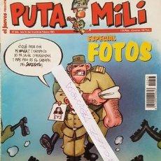 Coleccionismo de Revista El Jueves: REVISTA EL JUEVES - PUTA MILI - 18 AL 24 FEBRERO 1997 - AÑO VI - Nº 243 -. Lote 149412762