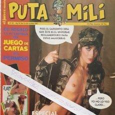 Coleccionismo de Revista El Jueves: REVISTA EL JUEVES - PUTA MILI - 15 AL 21 ABRIL 1997 - AÑO VI - Nº 251 -. Lote 149412778