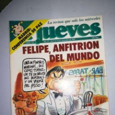 Collectionnisme de Magazine El Jueves: EL JUEVES REVISTA DE HUMOR AÑOS 90 NUM 754 AÑO XV DEL 6 AL 12 DE NOVIEMBRE DE 1991. Lote 149857978