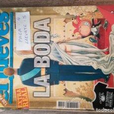 Coleccionismo de Revista El Jueves: REVISTA EL JUEVES 1408 * 54. Lote 149863898