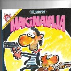 Coleccionismo de Revista El Jueves: MAKINAVAJA DE IVA. LOTE DE 9 PENDONES DEL HUMOR LOS Nº 27 - 38 - 51 - 62 - 73 - 85 - 100 - 111 - 121. Lote 151353654