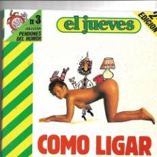 Coleccionismo de Revista El Jueves: EL PROFESOR COJONCIANO OSCAR LOTE DE 9 PENDONES LOS Nº 3 - 11 - 17 - 23 - 47 - 83 - 95 - 107 -143. Lote 151495214