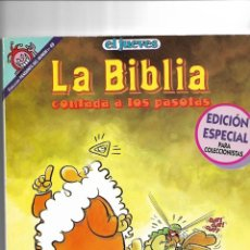 Coleccionismo de Revista El Jueves: LA BIBLIA, Nº 49. COLECCIÓN PENDONES DEL HUMOR.. Lote 151676306