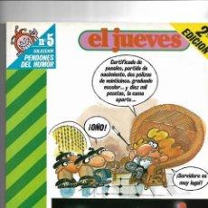 Coleccionismo de Revista El Jueves: PUTICLUB, LOTE DE 7 QUE SON LOS Nº 5 - 28 - 65 - 91 - 113 - 133 - 138. COLECCIÓN PENDONES DEL HUMOR.. Lote 151681638
