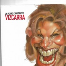 Coleccionismo de Revista El Jueves: ESTO ES HOLLYWOOD, LAS MEJORES CARICATURAS DE VIZCARRA. Lote 151772974
