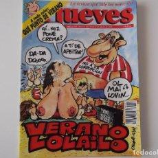 Coleccionismo de Revista El Jueves: REVISTA EL JUEVES Nº 743 AGOSTO 1991 VERANO LOLAILO. Lote 151814014