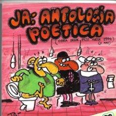 Coleccionismo de Revista El Jueves: JA, ANTOLOGIA POETICA, 2ª EDICIÓN COLECCIÓN EL PAPUS Nº 9.. Lote 151878558