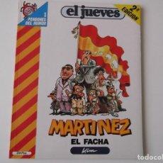Coleccionismo de Revista El Jueves: EL JUEVES - PENDONES DEL HUMOR 1. MARTINEZ EL FACHA DE KIM. Lote 152051838