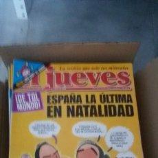Coleccionismo de Revista El Jueves: REVISTA EL JUEVES AÑO COMPLETO 2000 (52 EJEMPLARES). Lote 149266834