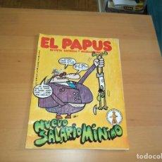 Coleccionismo de Revista El Jueves: EL PAPUS LOTE DE 5. REVISTAS SATIRICAS,QUE SON LOS Nº 205 - 206 - 208 - 248 - 293 EXTRA DE NAVIDAD.. Lote 152197346