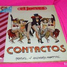 Coleccionismo de Revista El Jueves: EL JUEVES, COLECCION PENDONES DEL HUMOR Nº 4 CONTACTOS.. Lote 152341118