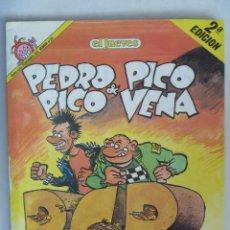 Coleccionismo de Revista El Jueves: EL JUEVES : PEDRO PICO & PICO VENA, DE AZAGRA.. Lote 152602186