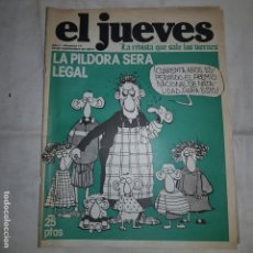 Coleccionismo de Revista El Jueves: EL JUEVES . AÑO I Nº 17 . 1977. Lote 153487506